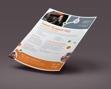 Patient FAQ Sheet (Front)